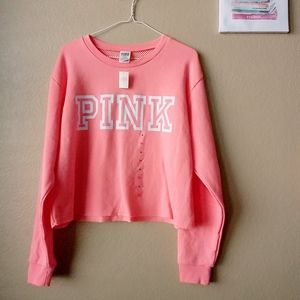 NWT Pink by Victoria Secret Pullover Sweater